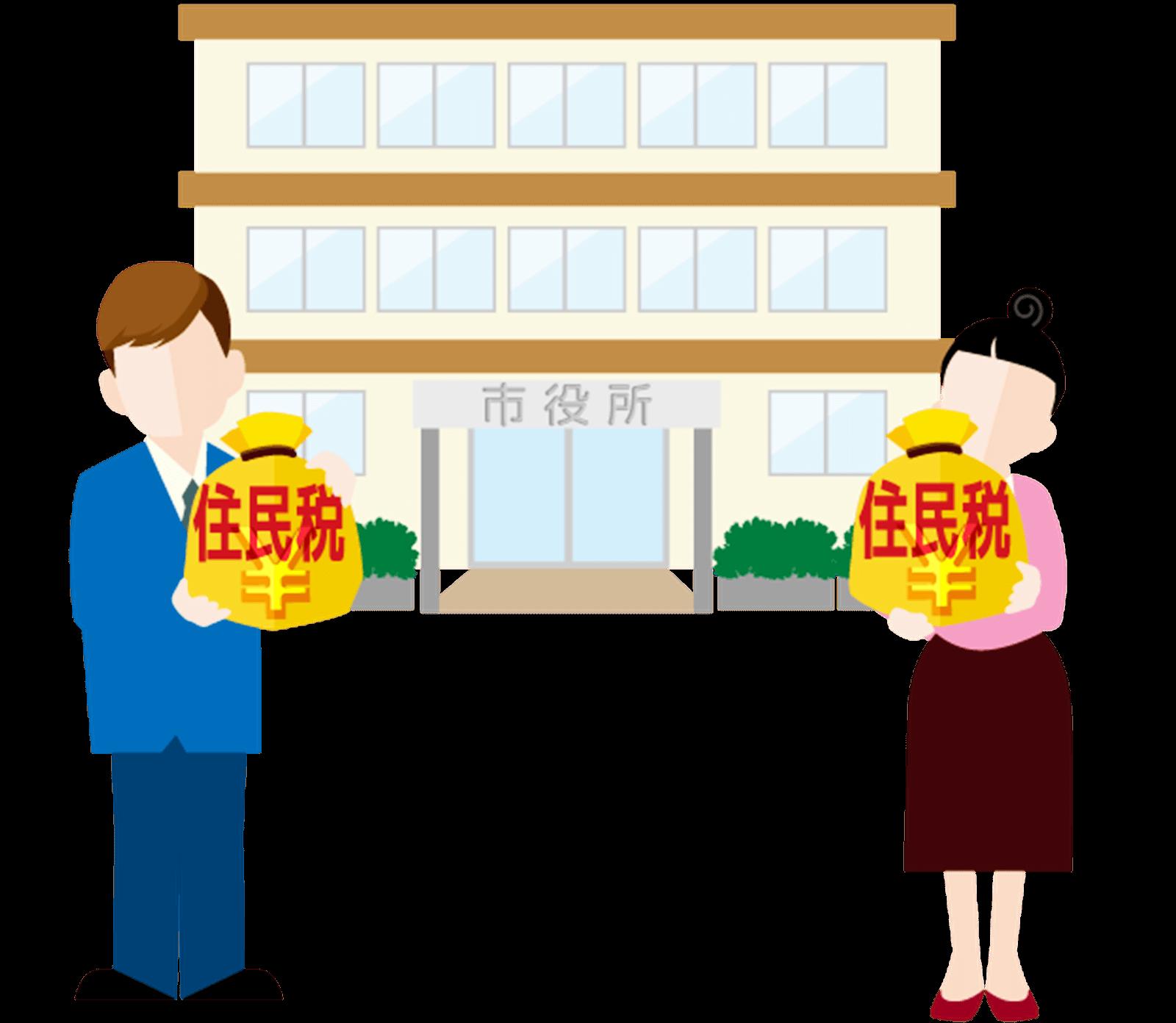 住民税の免除(減免)申請 手続き方法